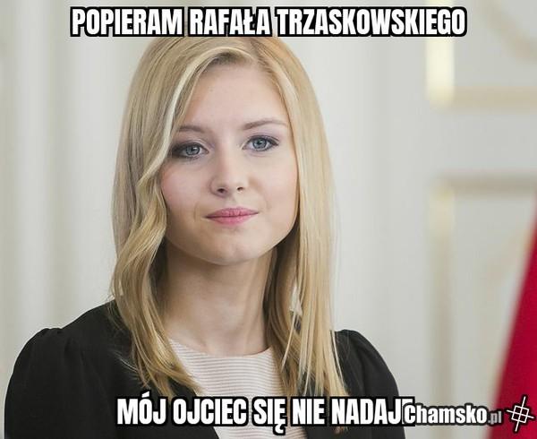 Kinga Duda za Rafałem