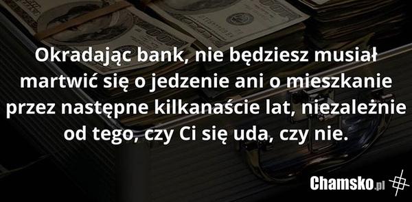 Okradanie banku
