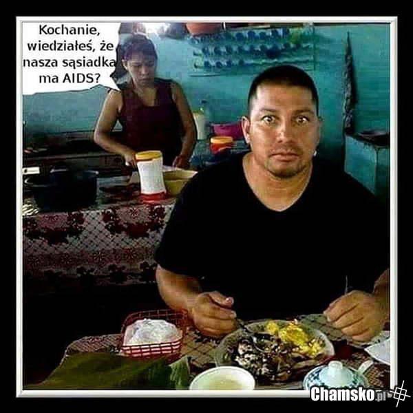Sąsiadka z aids