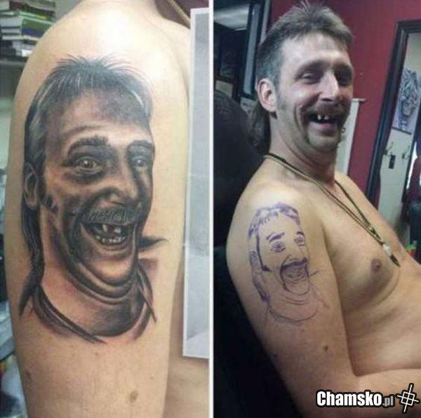 Zajebisty tatuaż