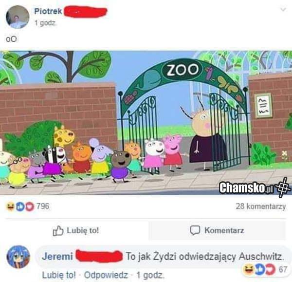 Peppa w zoo