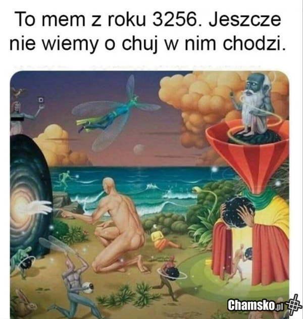 Mem z przyszłości
