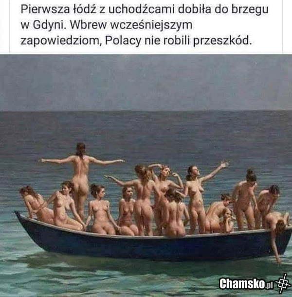 Pierwsza łódź