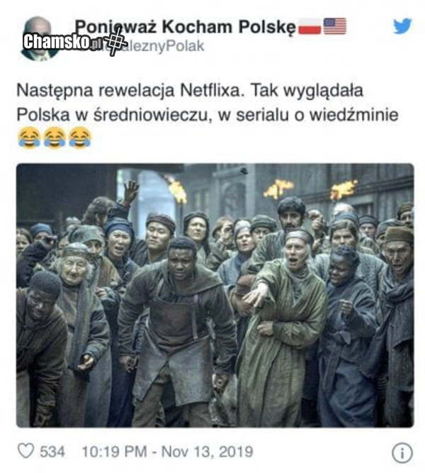 Polska w średniowiecziu według Netflixa
